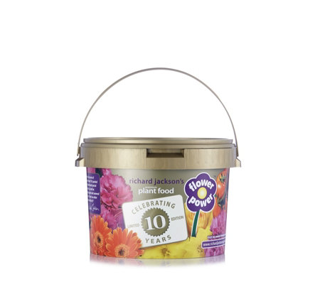 Richard Jackson's Flower Power 10th Anniversary 2.4kg Premium Plant Food