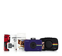 Polaroid SNAP Touch 13MP Camera with Case 8GB Micro SD Card & 50pgs Paper - 509101