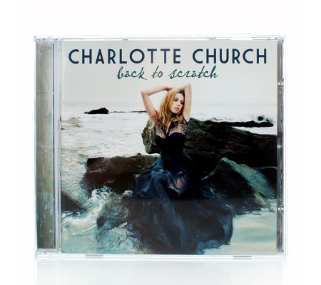 Charlotte Church Back To Scratch CD Album with Printed Postcard