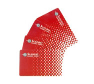 Scanner Guard 2 Sets of 2 RFID Protecting Cards for Wallets