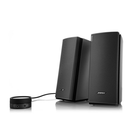 Bose Companion 20 Multimedia Speaker System - Page 1 - QVC UK