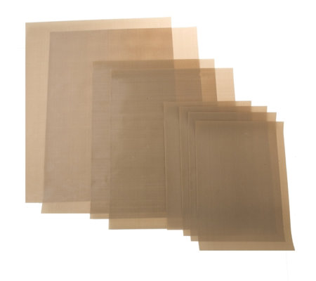 Set of 8 non stick craft sheets qvc uk for Non stick craft sheet large