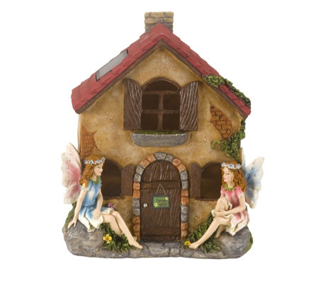 Smart Garden Hand Painted LED Fairies Only House