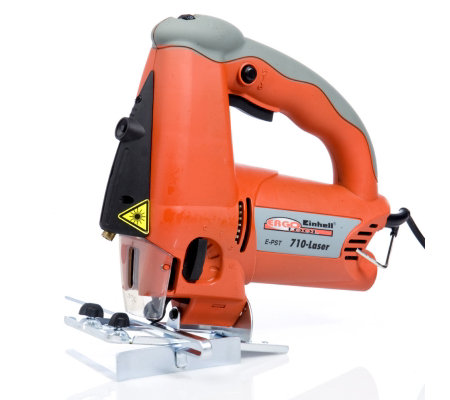 Einhell 710W Laser Jigsaw with Adjustable Base Plate & Laser G
