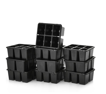 Langdon's Set of 10 6 Plant Grow Pots