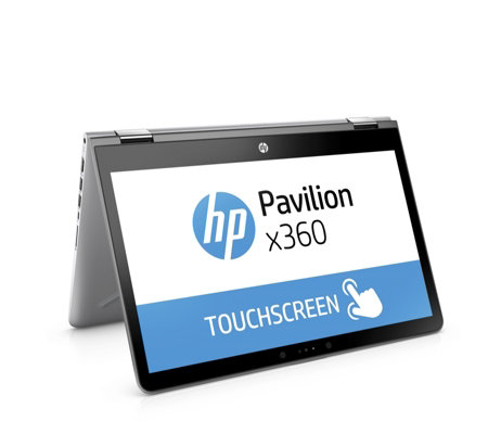 "HP Pavilion X360 14"" HD Laptop With Touchscreen, Intel Core i5,  & 128GB SSD"