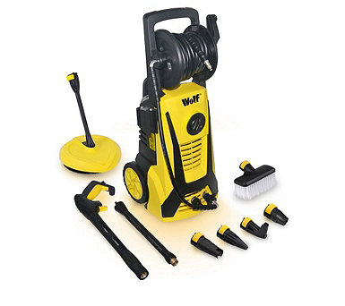 Wolf Blaster Max 2 Pressure Washer with Patio Cleaner & Accessories - 514819