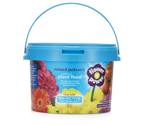 Richard Jackson's 2.4kg Flower Power Plant Food with Bio-Active Formula