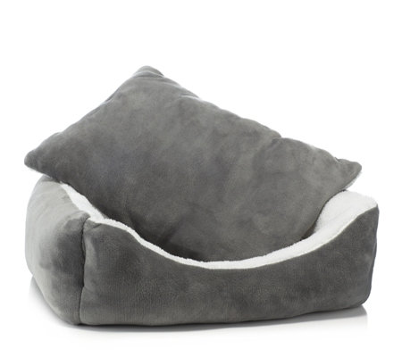 Cozee Paws Plush Pet Bed