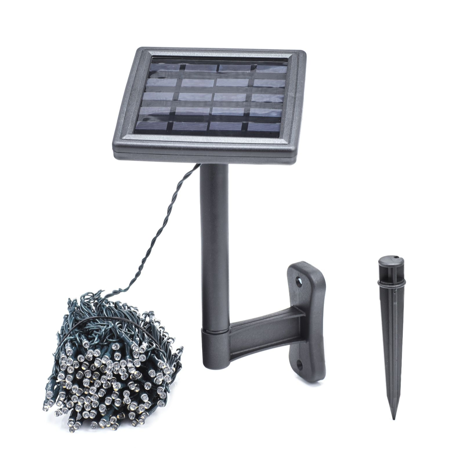 Luxform 13m 250 LED Solar Powered Multi Function String Lights - Page 1 - QVC UK