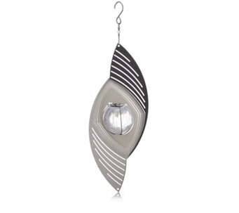 Home 2 Garden Stainless Steel Solar Orb Spinner - 509534