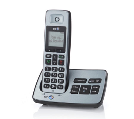 BT 2500 Cordless DECT Phone with Answer Machine