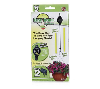 Langdon's Set of 2 Easy Reach Hanging Basket Pulleys - 506336