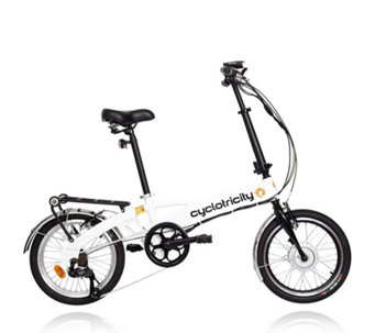 Cyclotricity Wallet 250W 8Ah Folding eBike with Lights - 508237