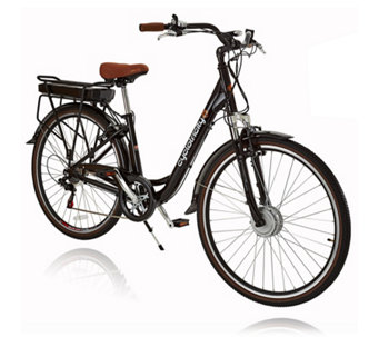 Cyclotricity Sahara 250W 11Ah Stepthrough eBike with Bag & Lights - 508238