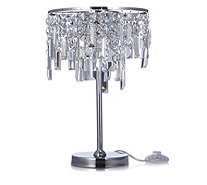 JM by Julien Macdonald Deco Collection Crystal Table Lamp - 508441