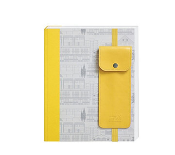 Mini Moderns Notebook with Pen Holder - 515441
