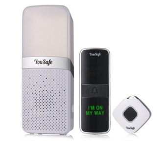 """As Is"" YouSafe Caller Alert Doorbell - 508942"