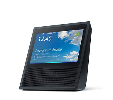 Amazon Echo Show Smart Speaker with Alexa & Amazon Music Voucher - 513144