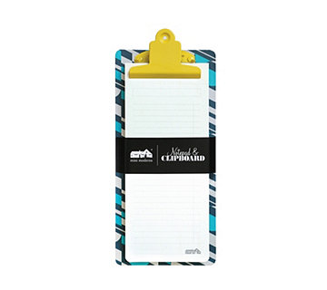 Mini Moderns Notepad & Clipboard - 515446