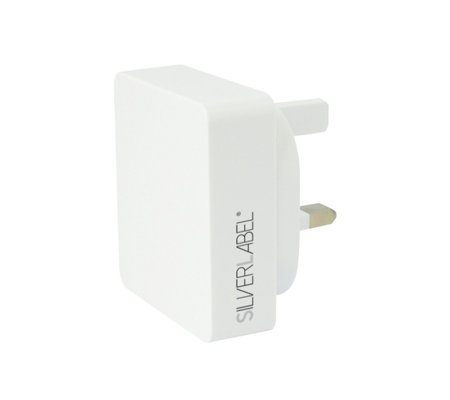 Silver Label Mains Charger 2.1 AMP Single USB Port