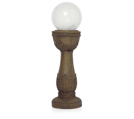Bernini All Weather LED Crackle Ball Murano Fountain