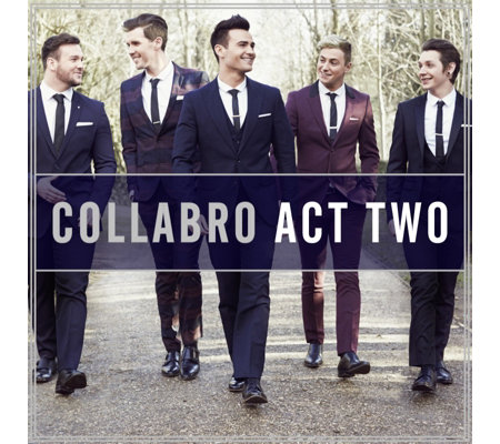 Collabro Act Two CD Album