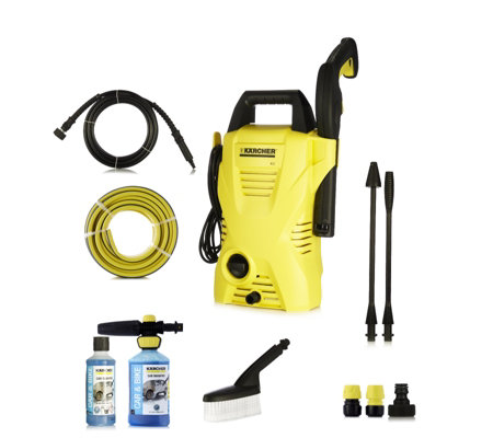 Karcher K2 Compact Pressure Washer With Complete Car Cleaning Kit