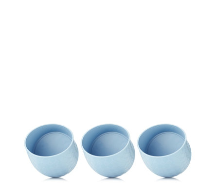 Klara Set of 3 Curved Plant Pots