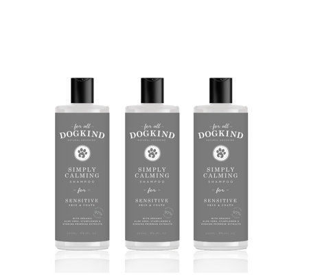 For All DogKind Set of 3 Sensitive Natural Shampoo Collection