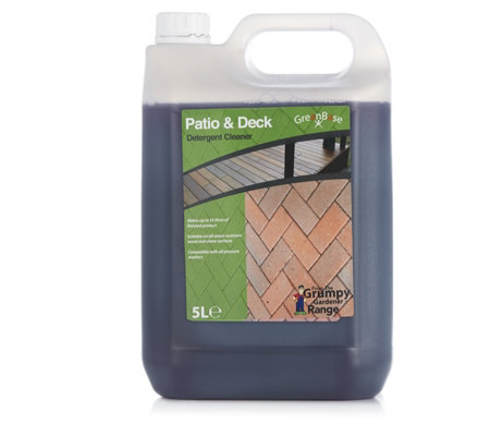 Grumpy Gardener 5 Litre Patio & Deck Cleaner