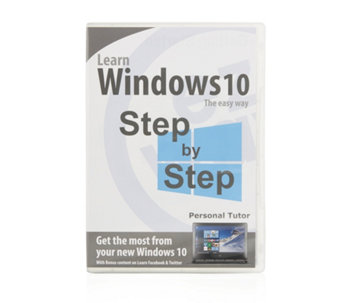 Ezway Learn Windows 10 Personal Tutor DVD - 506961