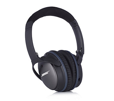 tv qvc. bose quietcomfort 25 noise cancelling on-ear headphones for apple devices - 505762 tv qvc