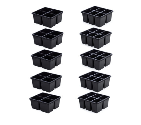 Langdon's Set of 10 Plant Grow Pots