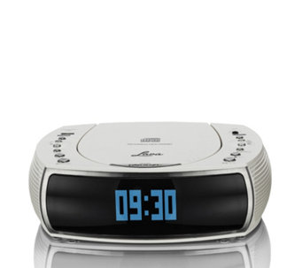Lava Bedside Alarm Clock DAB/DAB Digital & FM Radio with CD Player - 510564