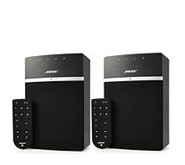 Bose Set of 2 SoundTouch 10 Bluetooth & WiFi Music Systems - 508769