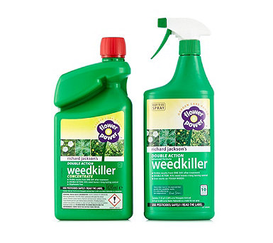 Richard Jackson's 1L Ready to Use Weedkiller & 1020ml Concentrate - 514569