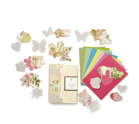 Anna Griffin Parchment 248 Piece Vellum Craft Embellishment Set