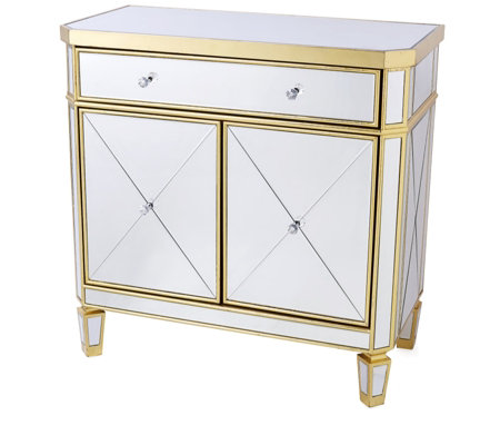 JM by Julien Macdonald Deco Collection Mirrored Drinks Cabinet