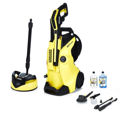 karcher k4 premium full control car home pressure washer qvc uk. Black Bedroom Furniture Sets. Home Design Ideas
