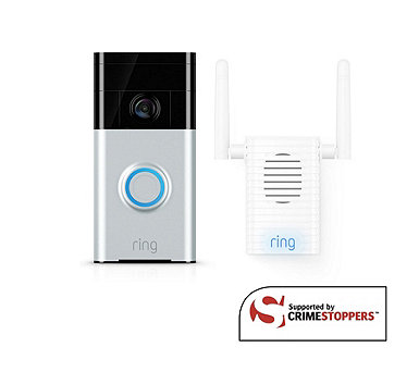 Ring Video Doorbell with Chime Pro Wifi Extender - 512673