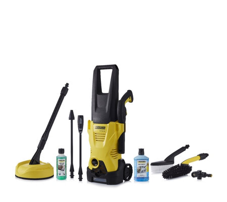 karcher k2 premium deluxe pressure washer with accessories. Black Bedroom Furniture Sets. Home Design Ideas