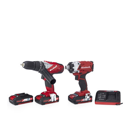Einhell Power Xchange Combi Impact Driver & Impact Drill