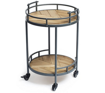 BundleBerry by Amanda Holden 2 Tier Drinks Trolley - 512191
