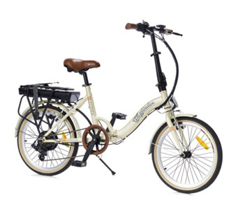 Elec Trek Folding eBike with 36v Battery Full Mudguards & Rear Rack - 508492