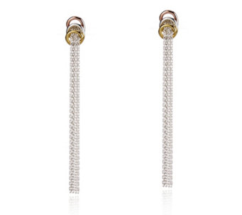 Links of London Sweetie Tassel Earrings Sterling Silver - 664302