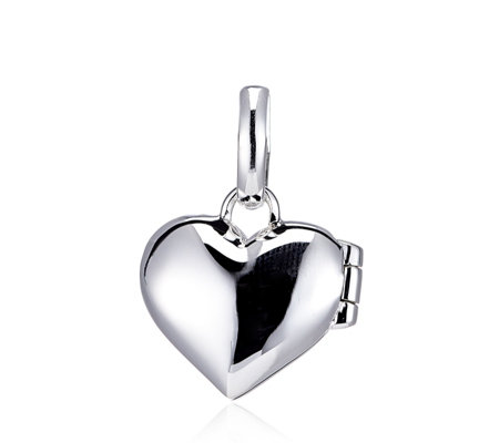 Links of London Heart Locket Charm Sterling Silver