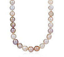 Honora 12-14mm Cultured Ming Pearl Rope Necklace Sterling Silver - 660727