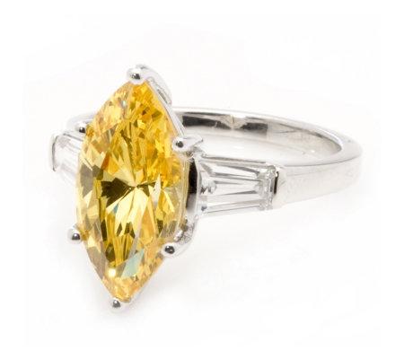 Marquise Cut Diamond Ring Qvc