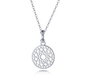 Links of London Timeless Small Pendant 50cm Necklace Sterling Silver - 664233